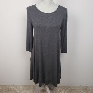 Zenana Outfitters grey comfy dress S